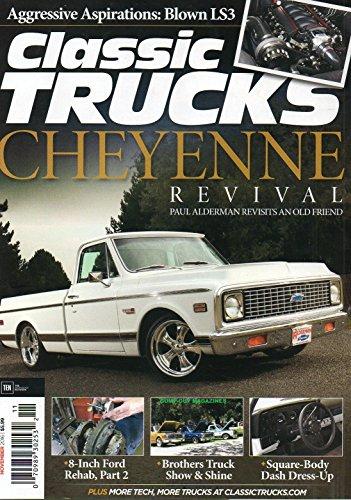 Classic Chevy Pickup Parts (Classic Trucks 2016 Magazine 1972 CHEVROLET CHEYENNE REVIVAL Aggressive Aspirations: Blown LS3 SQUARE-BODY DASH DRESS-UP)