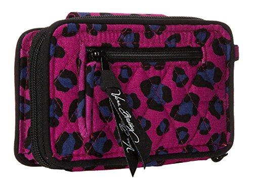 Handbag 6 Wristlet Spots Smartphone Vera Leopard Women's Iphone Bradley TIRPaYq
