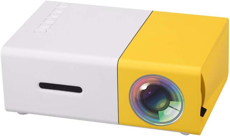 Proyector Mini Proyector Led Portátil 500lm 3.5mm 320x240 Píxeles ...