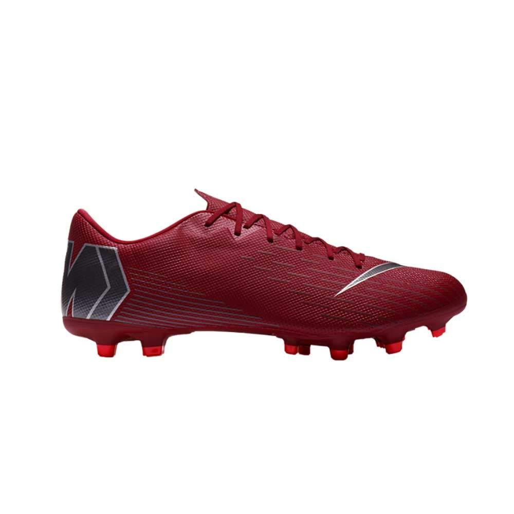MultiCouleure (Team rouge Mtlc Dark gris Bright Crimson 606) Nike Vapor 12 Academy FG MG, Chaussures de Futsal Mixte Adulte 45 EU