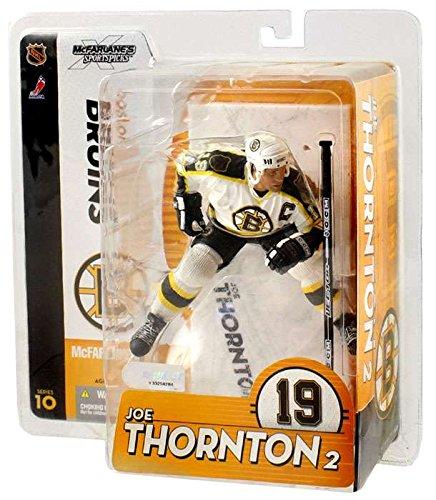 Joe Thornton Nhl - NHL Series 10: Joe Thornton in Yellow/Black Boston Bruins Uniform