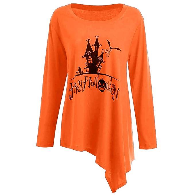 CLOOM Halloween Sudaderas Castillo Antiguo Impresión de ...