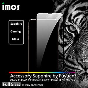 imos 2.5D Sapphire Gaming Glass Screen Protector for iPhone 11 Pro//Pro Max iPhone 11 Pro Max