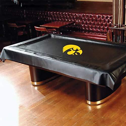 Iowa Hawkeyes College Billiard Pool Table Cover College Billiard Table Cover