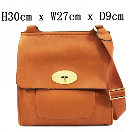 Bag Bag Girls High Handbags Across Flap Tote Body For Women's Women Body LeahWard Grab Brown Faux Cross Body Cross Quality Leather Mum's Shoulder Bag wZg7nF