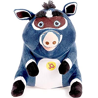 Cuba Leo & Tig Russian Talking Plush Soft Toys Stuffed Animal Original Licensed 8''/20 cm: Toys & Games