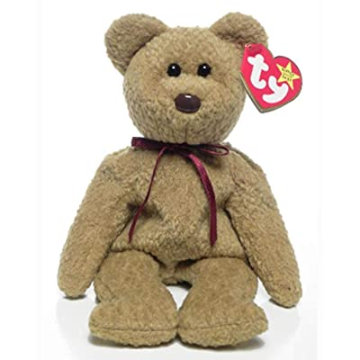 Ty Beanie baby Curly the Bear: Toys & Games