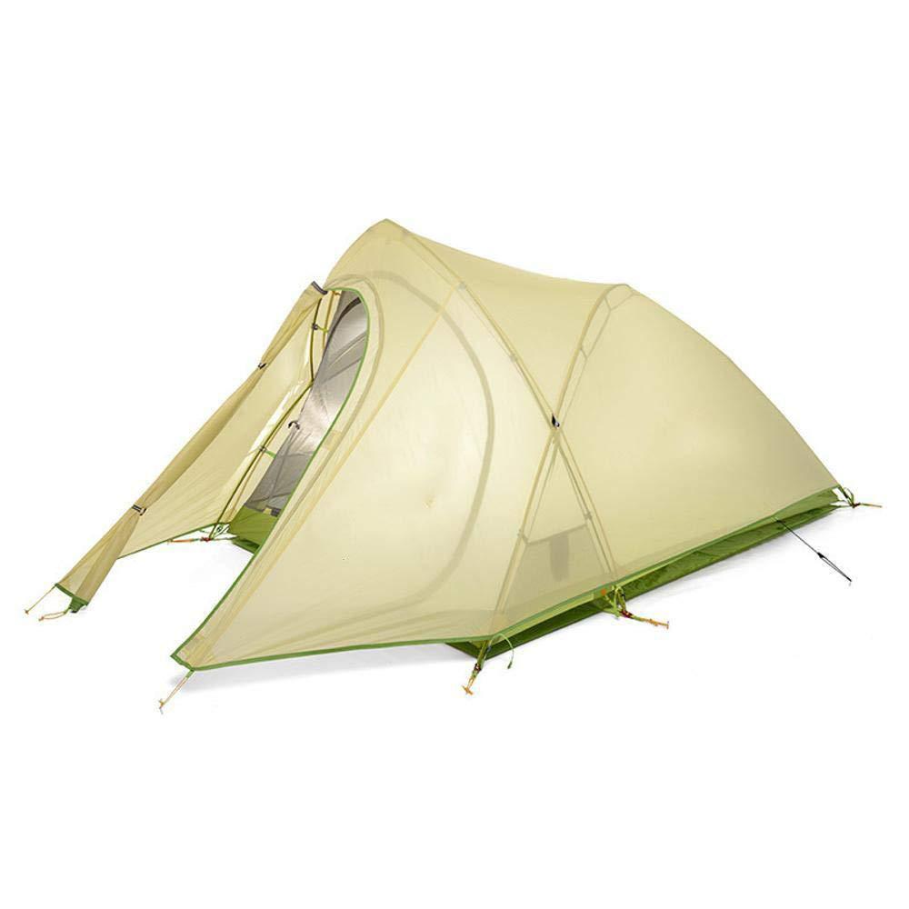 Lxj Outdoor-Zelt Camping Outdoor Bergsteigen Super Leichte Aluminium Mast Zelt wasserdicht 2 Personen Zelt