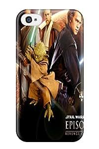 Cute Appearance Cover/tpu UAoqCnF6590okTdJ Star Wars Revenge Sith Case For Iphone 4/4s