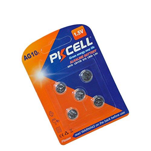 10 189 389 1.5V Alkaline Watch Batteries (Equivalent Digital Camcorder Battery)