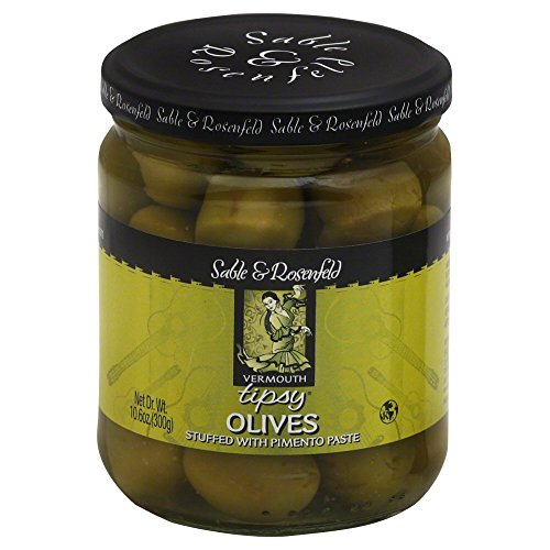 - Sable & Rosenfeld Vermouth Tipsy Olives 10.6 oz (Pack of 6)