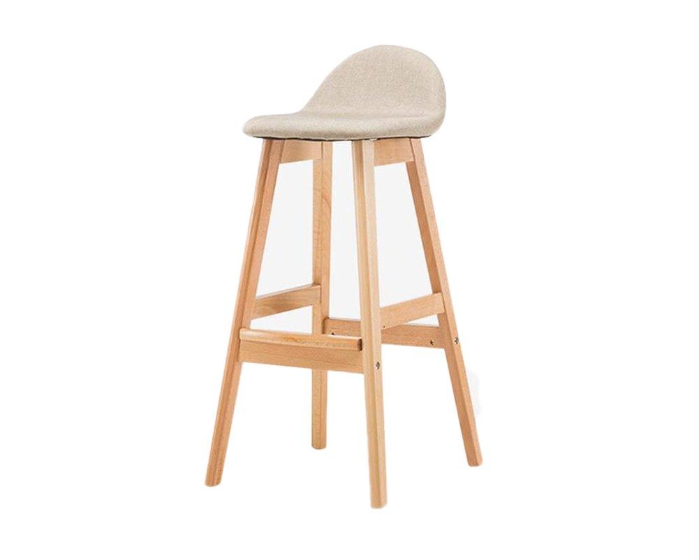 ソリッドウッドのバーのスツール、バーの椅子リフトが簡単なハイスツール39 * 41 * 84センチメートル B07DVS2F97