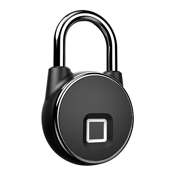 Sin llave inteligente Candado Cerraduras Biométricas De Huellas ...