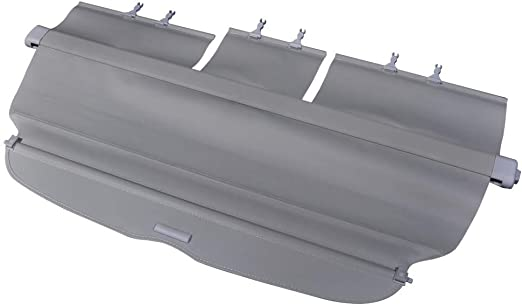 2008 2009 2010 Factory Style Gray Luggage Carrier Rear Trunk Security Cover by IKON MOTORSPORTS Cargo Cover Fits 2007-2011 Honda CRV