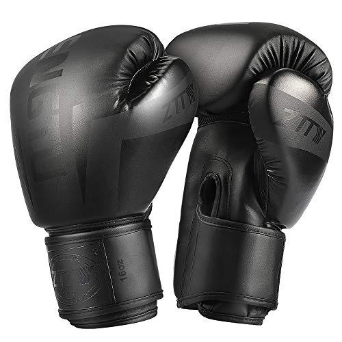 ZTTY Boxing Gloves Kickboxing Muay Thai Punching