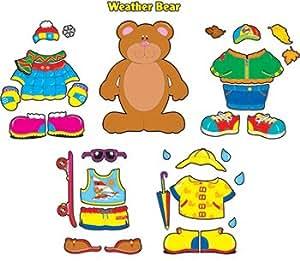 Carson Dellosa Bb Set Weather Bear