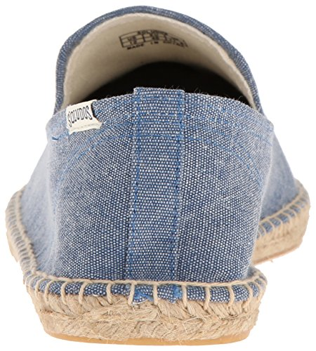 Soludos Mens Rökning Toffel Sandal Blå