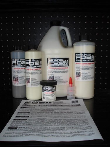 The Monster Makers Complete Foam Latex Kit: 1 Quart (Prosthetic (Monster Makers Mask)