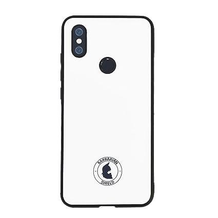 Xiaomi Funda Barbarian Shield A2 Glass Case Blanca: Amazon ...