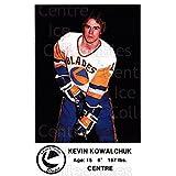 Kevin Kowalchuk Hockey Card 1983-84 Saskatoon Blades #13 Kevin Kowalchuk