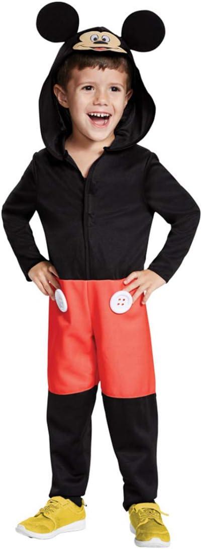 Horror-Shop Disfraz De Niño De Mickey Mouse M: Amazon.es: Juguetes ...