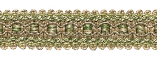 (DecoPro 9 Yard Value Pack of Olive Green, Champagne 1