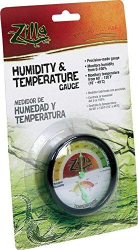 Zilla Reptile Terrarium Thermometer Humidity