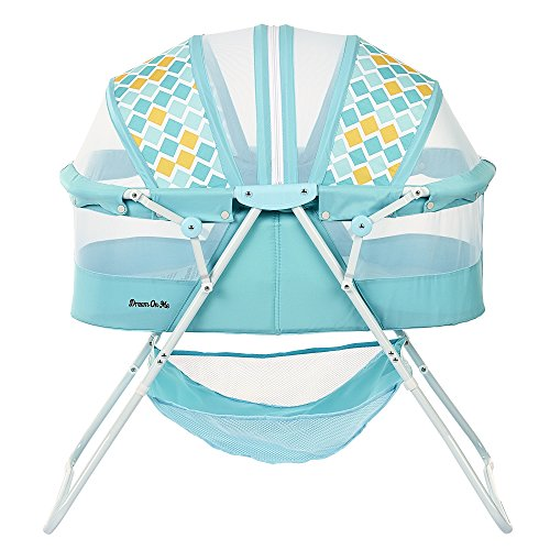 Dream On Me Karley Bassinet, Aqua Blue by Dream On Me