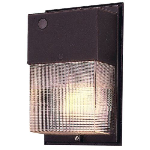- EATON Lighting W-35-H/PC 35W High Pressure Sodium Wall Pack with Photo Control, Bronze