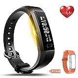 LEMFO Fitness Tracker Bluetooth Smart Watch Heart Rate Monitor Pedometer...