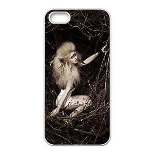 Iphone 5C Girl Phone Back Case DIY Art Print Design Hard Shell Protection FG047095