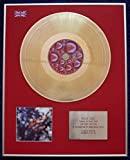 Century Presentations - PINK FLOYD - Limited Edition CD 24 Carat Gold Coated LP Disc - OBSCURED BY CLOUDS