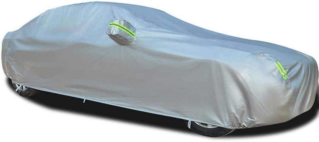 Car Cover Compatible with McLaren 12C Spider Car Clothing with Cotton Anti-Theft Heat Insulation Waterproof Scratch Resistance Oxford Car Tarpaulin-Including Storage Bag