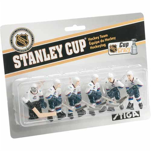 NHL Vancouver Canucks Table Top Hockey Game Players Team Pack Stiga 7111-9090-28