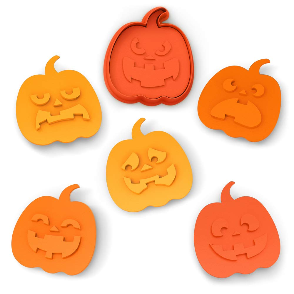 Orange Fred Snack O Lantern Cookie Stamps