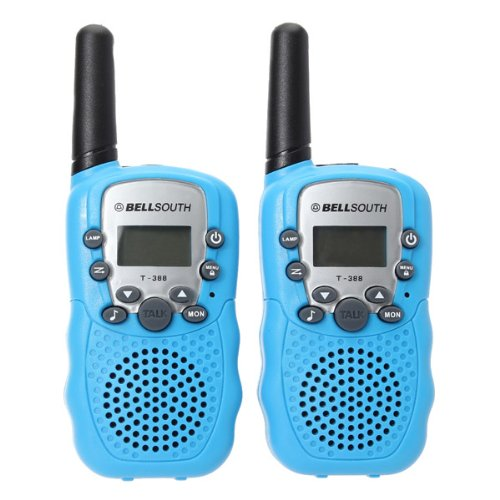 t-388-05w-uhf-auto-multi-channels-mini-radios-walkie-talkie-blue