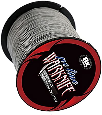 Warknife 4 Stands Super Strong Braided Fishing Line Tensile Strength 100Meters//109.4Yards 6-100LB