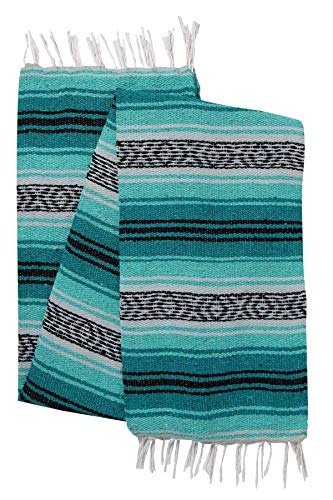 El Paso Designs Genuine Mexican Falsa Blanket - Yoga, used for sale  Delivered anywhere in USA