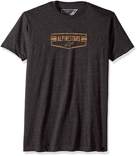 T-Shirt Alpinestars Emblematic Grigio-Grigio
