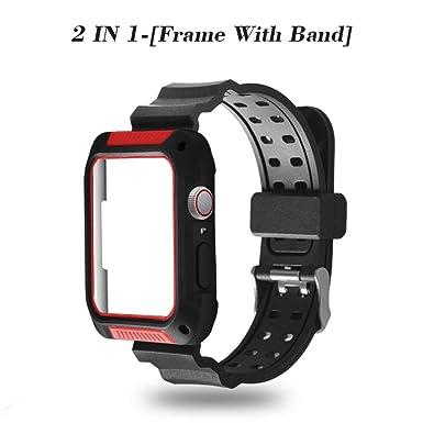 Amazon.com: Funda para Apple Watch Serie 4, 2win2buy a ...