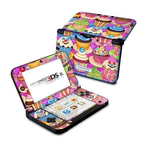Cupcake - DecalGirl Sticker Wrap Skin Compatible with Nintendo Original 3DS XL