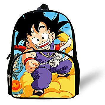 Dragonball Z Mochila Dragon Ball Son Goku GOKOU con Bolsillo: Amazon.es: Equipaje