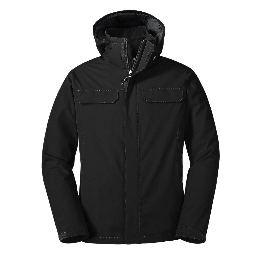 Eddie Bauer Men's Lone Peak 3-in-1 Jacket, Black Regular L by Eddie Bauer
