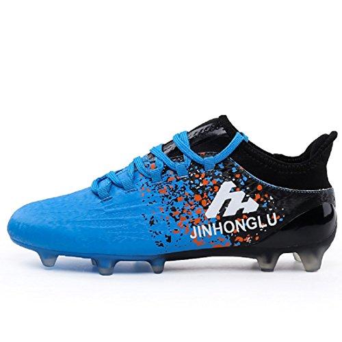 Football Chaussures Adolescent Profession Soccer Et Adulte Pour Bleu De Homme rrqp45w