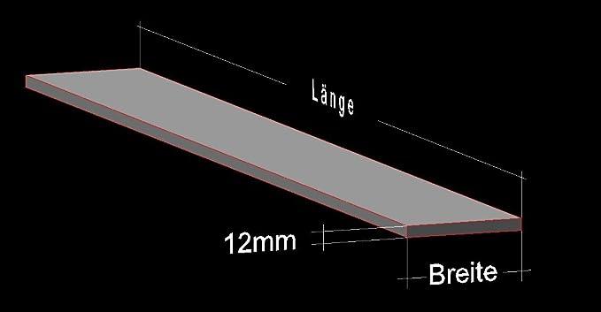 Alu Flachstange Aluminium 20 x 6 mm AlMgSi0,5 Profil Aluprofil Flach Alu Stange Flachmaterial 100 cm