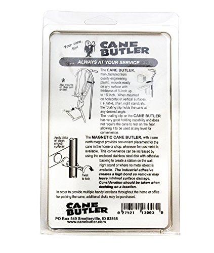 Cane Butler Combo Pack Includes Original Cane Butler, Disk Station, and Magnetic Cane Butler by Cane Butler (Image #1)