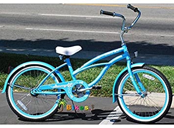 Micargi Jetta Baby Blue Girls 20 Beach Cruiser