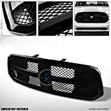 2015 ram grill - Autobotusa Glossy Black Finished Luxury Mesh Front Hood Bumper Grill Grille Cover for 2013-2017 Ram 1500