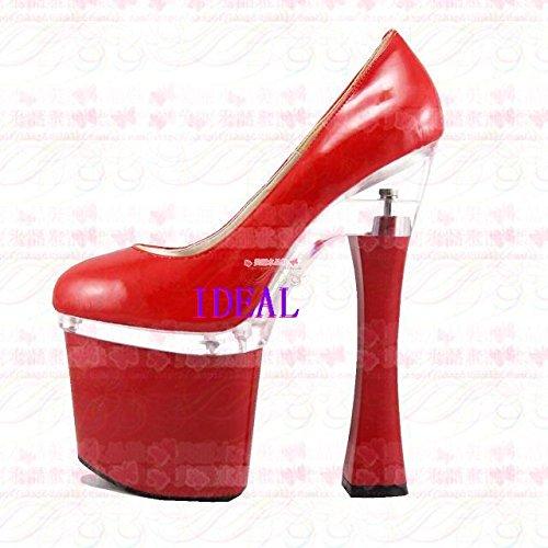 Crystal schuh braut hochzeit schuhe rot 18 cm high heels schuhe für auftritte