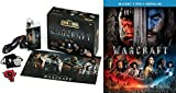 Video Game Epic Box Set & Warcraft Movie Blu Ray + DVD Collectible Warcraft Pack merchandise Awesome Kit
